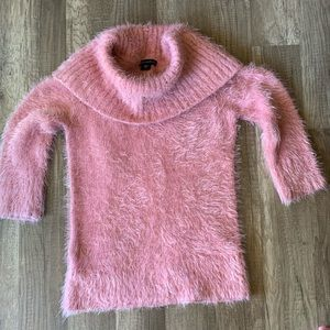 Metaphor Pink Fuzzy Sweater